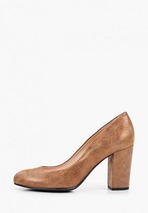 Туфли Argo. Цвет: коричневый