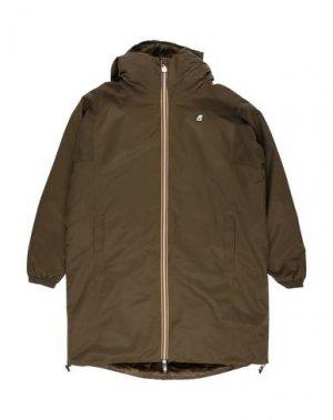 Куртка K-WAY. Цвет: зеленый-милитари