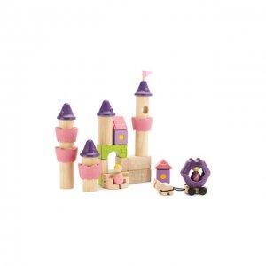 Конструктор Сказочный замок Plan Toys. Цвет: разноцветный