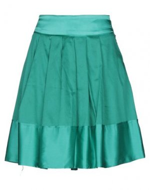 Мини-юбка BETTY BLUE. Цвет: зеленый