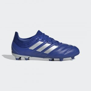 Футбольные бутсы Copa 20.1 FG Performance adidas. Цвет: серебристый