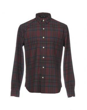 Pубашка BROOKS BROTHERS. Цвет: красно-коричневый