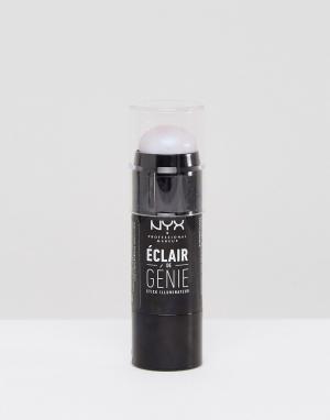 Иллюминатор с голографическим эффектом Strobe of Genius NYX Professional Makeup. Цвет: синий
