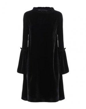 Короткое платье ANDREA TURCHI. Цвет: черный