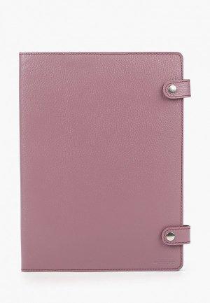 Обложка для документов Cashalots Assistant, Флотер розовый, формат А4. Цвет: розовый