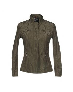 Куртка RRD. Цвет: зеленый-милитари