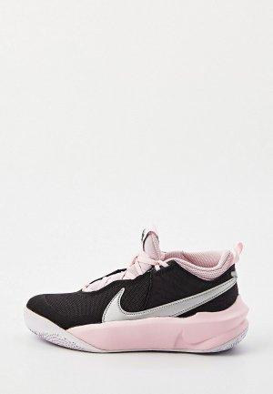 Кроссовки Nike TEAM HUSTLE D 10 (GS). Цвет: черный