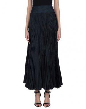 Длинная юбка CELYN B.. Цвет: темно-синий