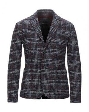 Пиджак ERIC HATTON. Цвет: свинцово-серый