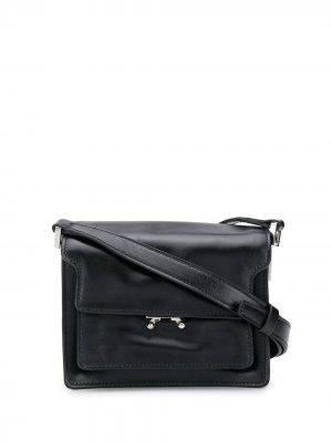 Мини-сумка на плечо Trunk Marni. Цвет: черный