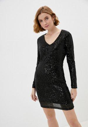 Платье Jacqueline de Yong. Цвет: черный