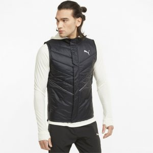 Жилет Elevated Padded Mens Running Vest PUMA. Цвет: черный