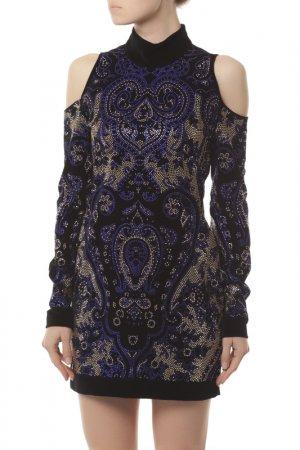 Платье Balmain. Цвет: c5159