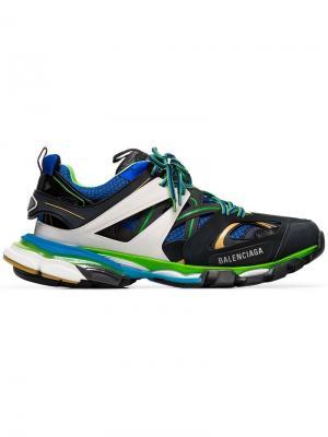 Кроссовки Track Balenciaga. Цвет: разноцветный
