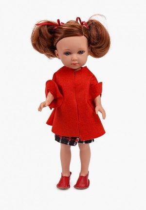 Кукла Arias ELEGANCE Carlota, виниловое тело, 36 см. Цвет: разноцветный