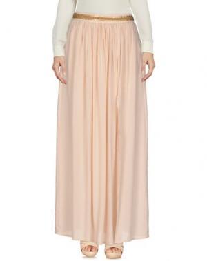 Юбка длиной 3/4 AXARA PARIS. Цвет: светло-розовый