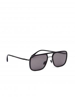 Черные солнцезащитные очки Lite Elgard Mykita