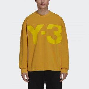 Свитшот Y-3 CLASSIC HEAVY PIQUE by adidas. Цвет: золотой