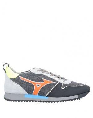Низкие кеды и кроссовки MIZUNO. Цвет: черный
