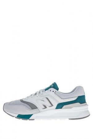 Кроссовки New Balance. Цвет: белый, серый