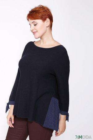 Пуловер Bianca. Цвет: синий