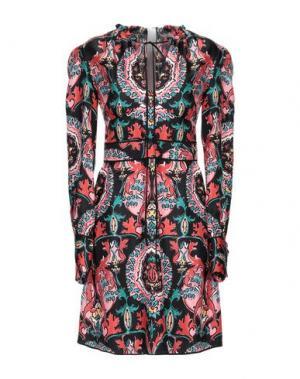 Короткое платье AQUILANO-RIMONDI. Цвет: красный
