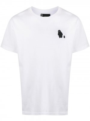 Graphic-print crew neck T-Shirt Styland. Цвет: белый