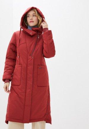 Куртка утепленная Dimma. Цвет: бордовый