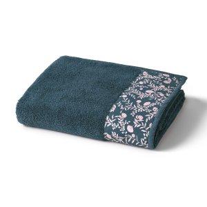 Полотенце LaRedoute. Цвет: синий