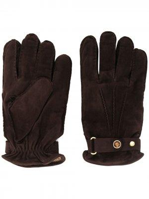 Перчатки Il Bergeni Lardini. Цвет: коричневый