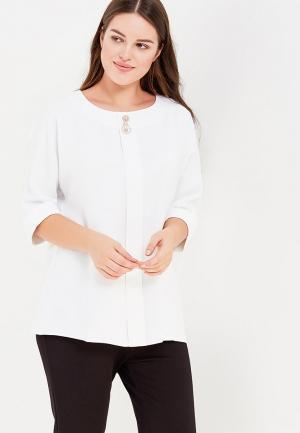 Блуза Intikoma. Цвет: белый