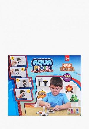 Набор для творчества 1Toy Aqua Pixels, Идем в поход. Цвет: разноцветный