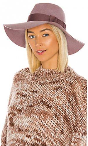 Шляпа Brixton. Цвет: сиреневый