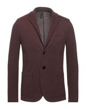 Пиджак HARRIS WHARF LONDON. Цвет: коричневый