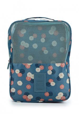 Органайзер для хранения Homsu Blue Flower. Цвет: синий