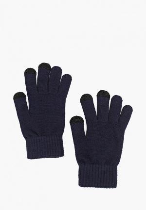 Перчатки Mango Man PE TOUCH. Цвет: синий