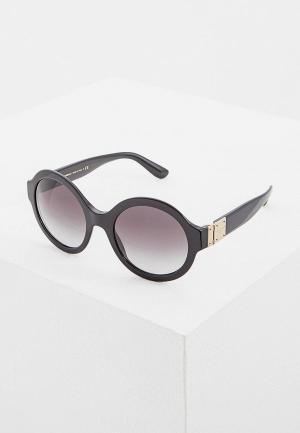 Очки солнцезащитные Dolce&Gabbana DG4331 501/8G. Цвет: черный