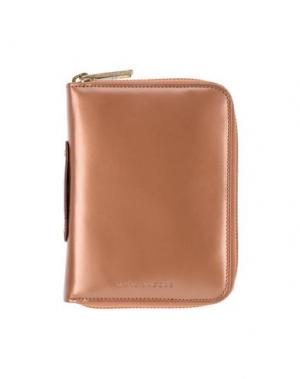 Бумажник MARC JACOBS. Цвет: коричневый
