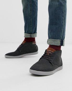 Зеленые замшевые кроссовки alvendon-Зеленый Boxfresh