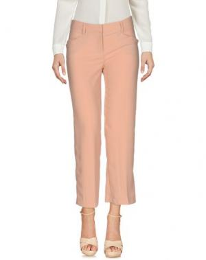 Повседневные брюки ATOS LOMBARDINI. Цвет: телесный