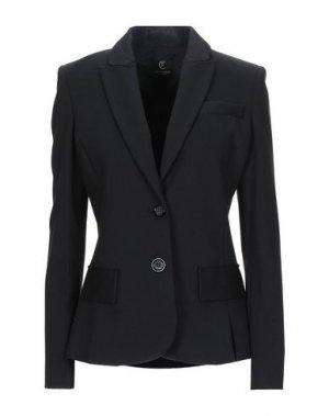 Пиджак CRISTINAEFFE. Цвет: черный