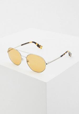 Очки солнцезащитные Marc Jacobs 327/S 4ES. Цвет: серебряный