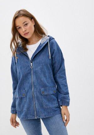 Куртка джинсовая Mavi DENIM JACKET. Цвет: синий