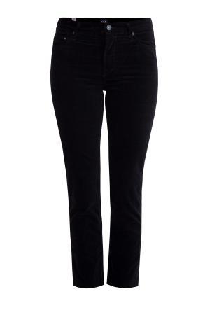 Зауженные джинсы «Cara» из плотного фирменного денима черного цвета CITIZENS OF HUMANITY. Цвет: черный