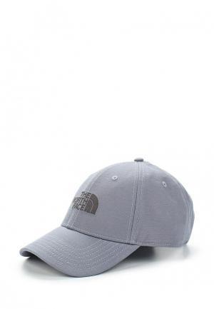 Бейсболка The North Face. Цвет: серый