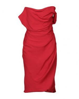 Короткое платье VIVIENNE WESTWOOD. Цвет: красный