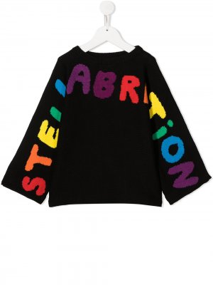 Джемпер Stellabration Stella McCartney Kids. Цвет: черный
