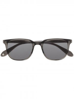 Солнцезащитные очки в квадратной оправе Garrett Leight. Цвет: серый