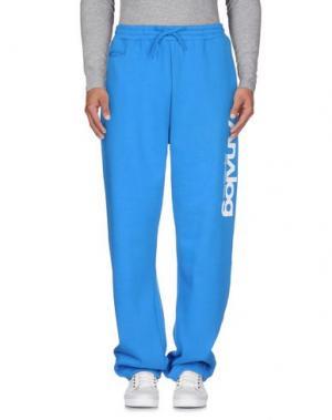 Повседневные брюки ANALOG. Цвет: лазурный