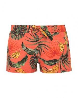 Пляжные брюки и шорты BANANA MOON. Цвет: оранжевый